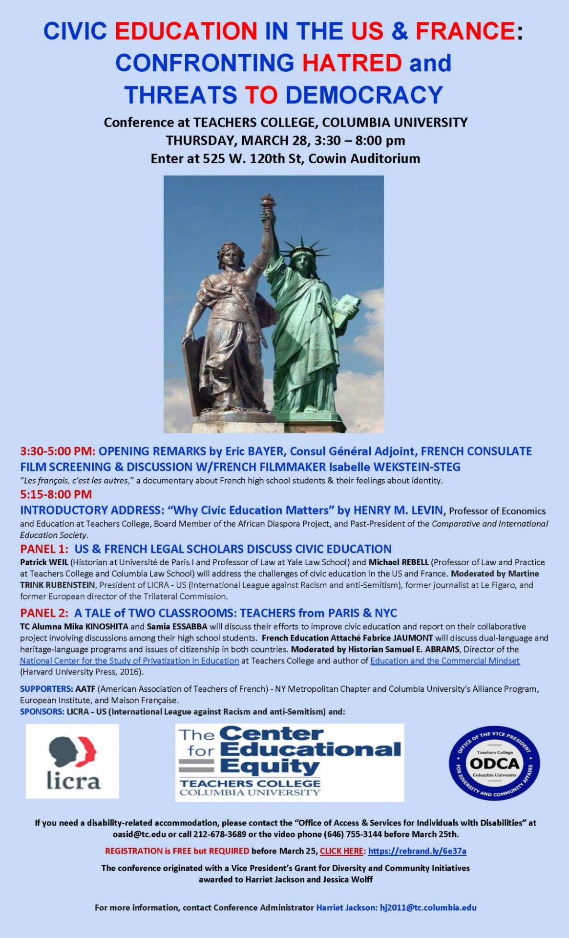 Civic Education in France and the United States