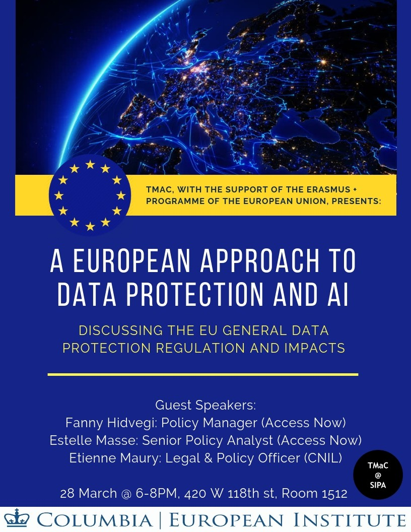 A European Approach to Data Protection and AI