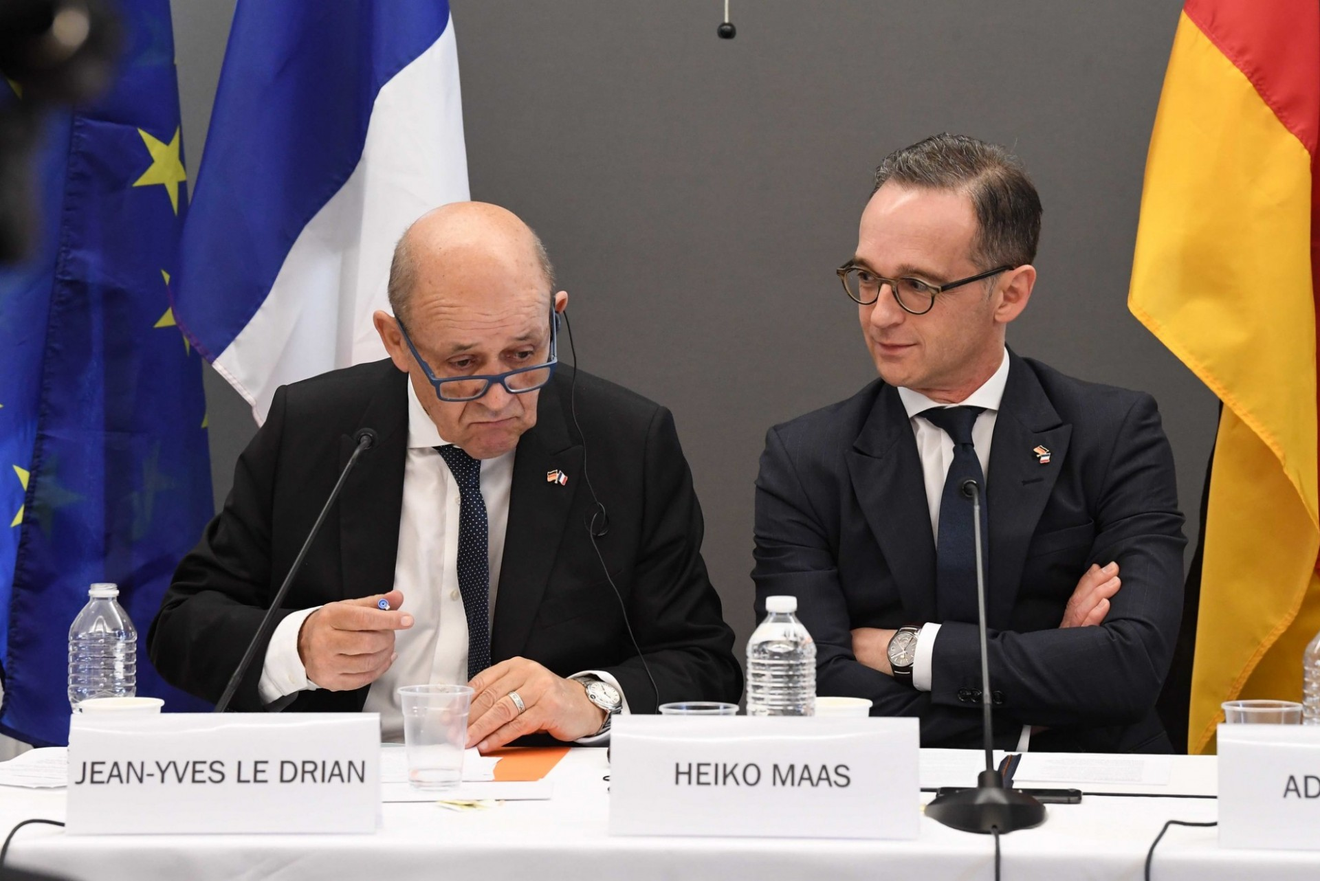 Collective Security and Multilateralism Today - Jean-Yves Le Drian and Heiko Maas