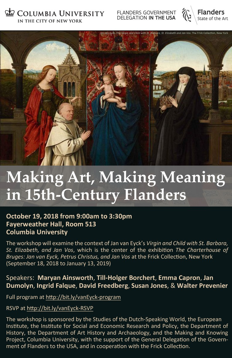 Making Art, Making Meaning in 15th-Century Flanders
