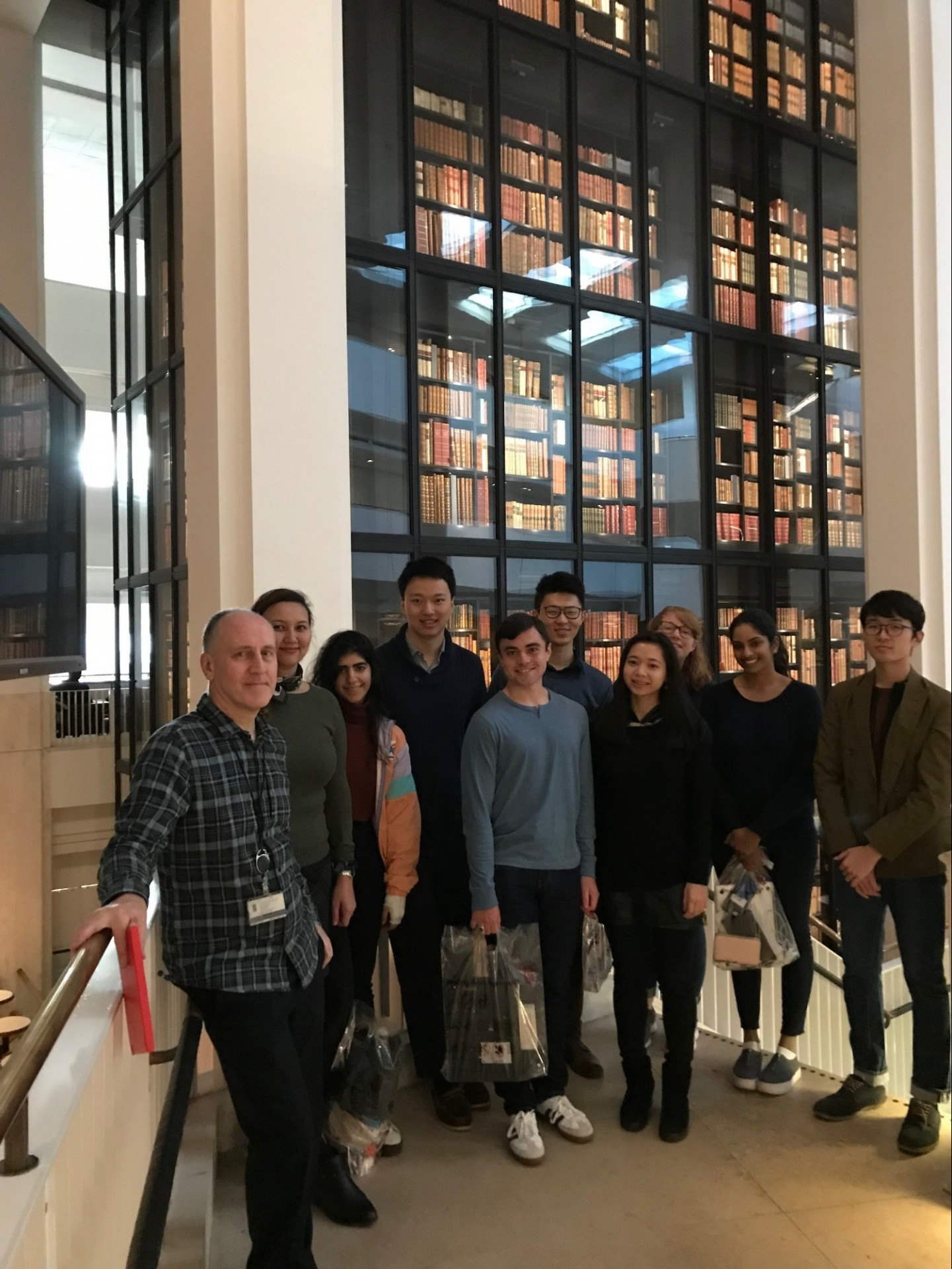 CWAR Fellows at The British Library